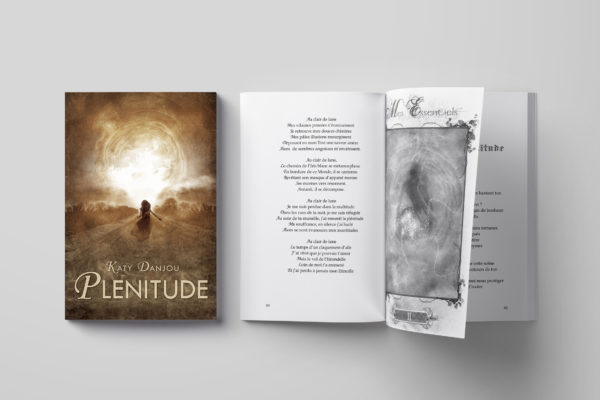 Plenitude by Katy Danjou - Book Design
