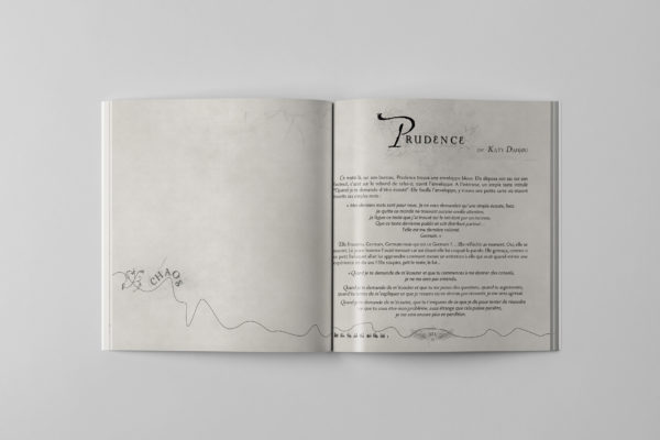 Claquement d'Aile - Book Design