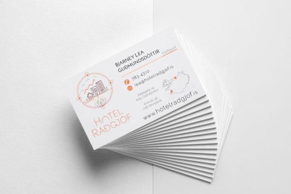 Hótelráðgjöf - Visit Card