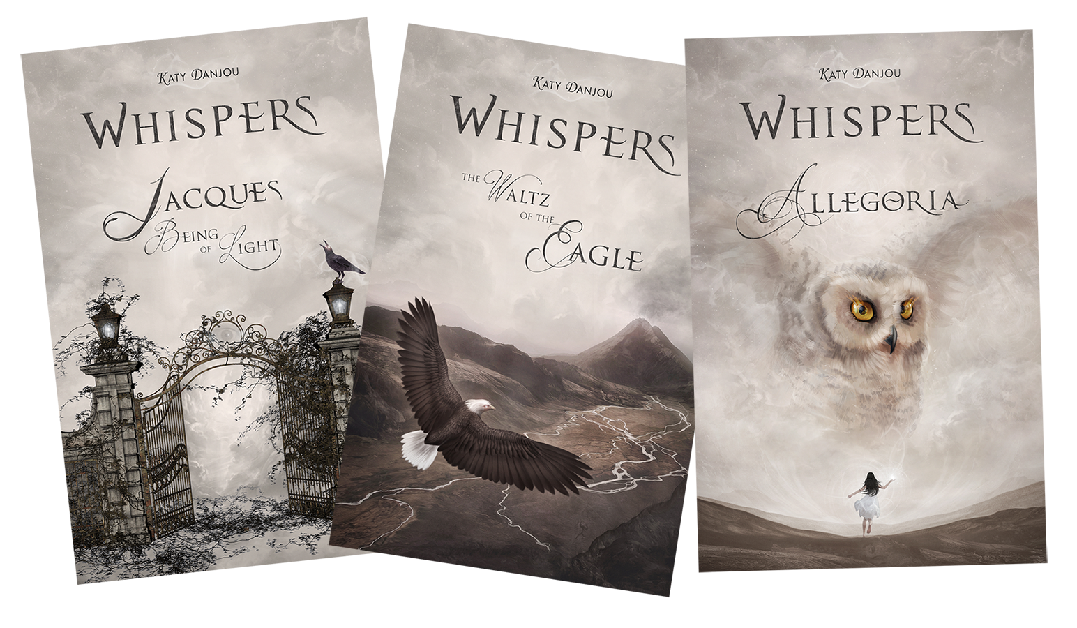 Project: Books Whispers Trilogy